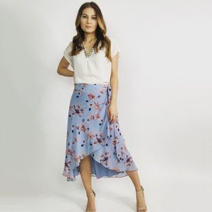 House of Harlow 1960 x Revolve Floral Wrap Skirt